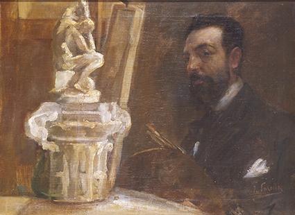 autoportrait dans latelier by joaquin sorolla y bastida