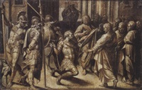 le christ et le centurion by lazzaro tavarone