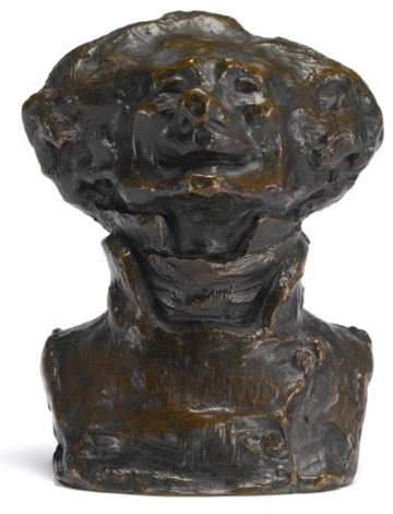 le rieur edenté bust of charles philipon by honoré daumier