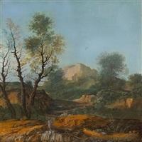 an idyllic landscape by agostino aglio