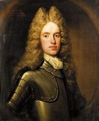 portrait of william, son of john, 8th lord elphinstone by william aikman