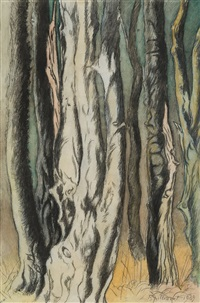 trees by léon spilliaert