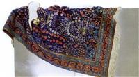 tapis persan et chat siamois by jean louis bilweis