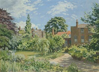 a london garden by donald chisholm towner