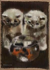 猫与鱼 by liu chiwei