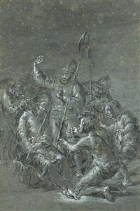 the derision of christ by leonard bramer