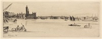 old westminster bridge by james abbott mcneill whistler