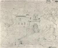 capella della grotta della st. rosalia, monte pelegrino by friedrich gartner