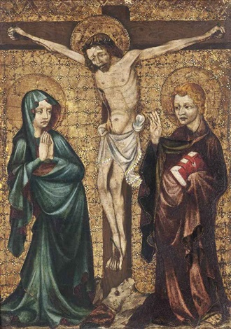 the crucifixion by german school swabian 15