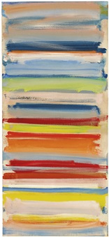 atmospheric strata: february by patrick heron