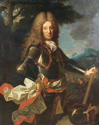 portrait d'un maréchal de france by jean ranc