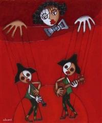 les deux marionnettes by jules alvard