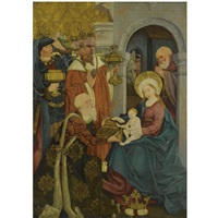 the adoration of the magi by german school-swabian (15)
