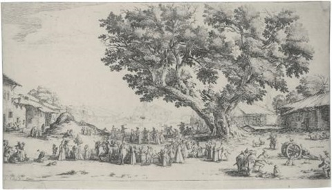 a collection of landscapes and other works by jacques callot