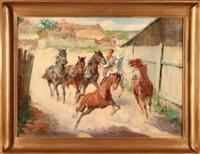 spłoszone konie by stanislaw batowski-kaczor
