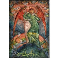 the mountain top by phoebe anna traquair