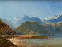 vue du lac by jean francois xavier roffiaen