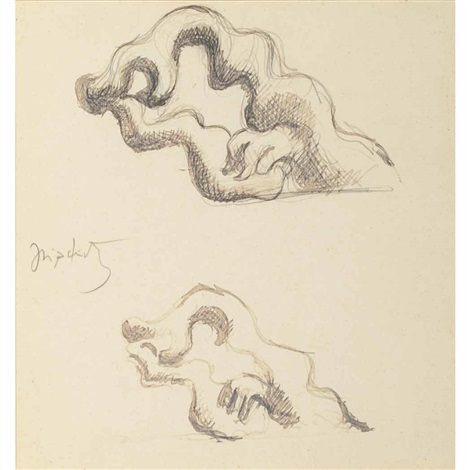 studies by jacques lipchitz