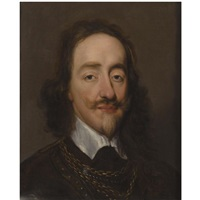 portrait of king charles i by william dobson