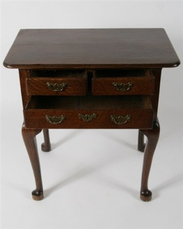 george iii oak lowboy english 18th c