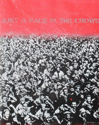 just a face in the crowd by jef aerosol