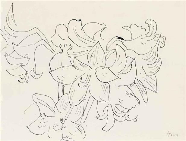 Dessin A La Plume Fleur De Lys By Henri Matisse On Artnet
