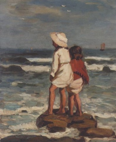 looking out to sea by garnet ruskin wolseley