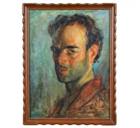 self portrait by alfred s. mira