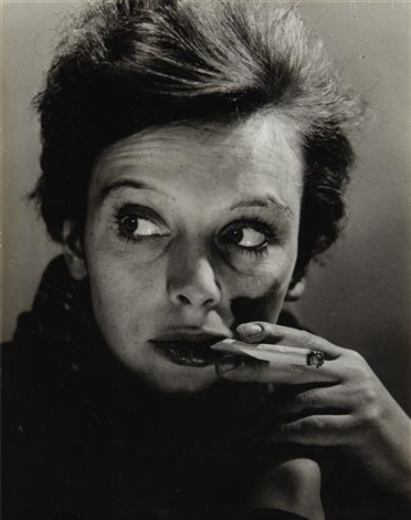 refugee girl paris by philippe halsman