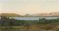 genfersee mit mont salève und mont blanc by anonymous-swiss (19)