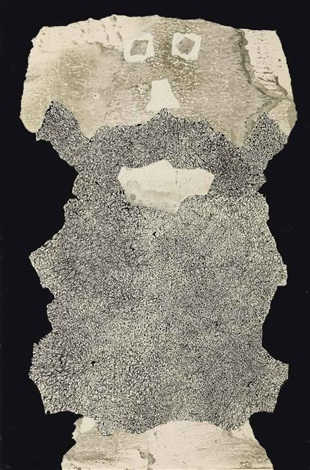 barbe de captation des ondes by jean dubuffet