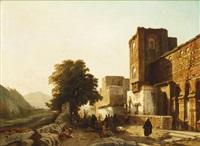 la halte auprès des ruines by françois antoine bossuet