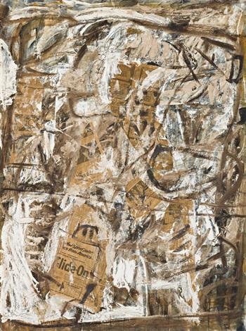 abstract on hardboard no 2 by john anthony tony tuckson