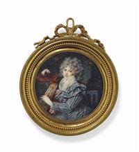 portrait de la princesse natalia iwanowna kourakine, née golowina by augustin ritt