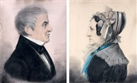 portrait d'un couple (pair) by etienne bouchardy