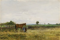 the cart horse by ivan pavlovich pokhitonov