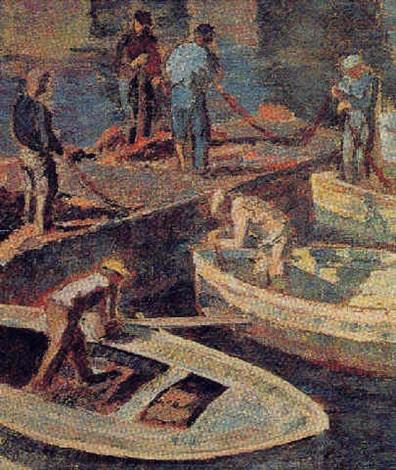 les pêcheurs port derbalunga by josé fabri canti