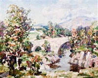 a spring day in the highlands by william wright campbell