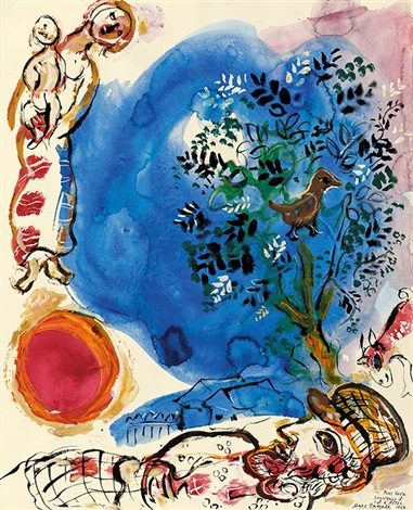souvenir du col dallos by marc chagall
