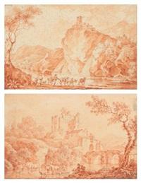 paire de paysages animés by olivier lemay