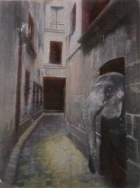 ein neugieriger - a spectator by claudia butz