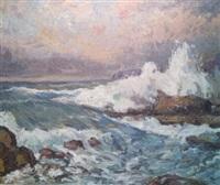 crashing waves by c. harry allis