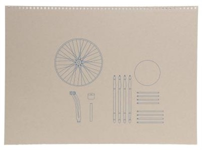 assembly instructions (blueprint for bicycle wheel) by analia saban