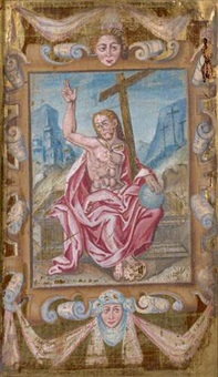 christ en gloire by icone