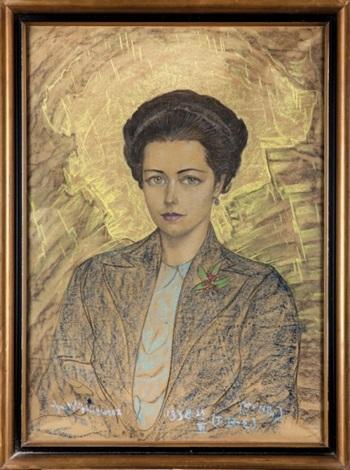 portret wilhelminy strzeleckiej różyckiej by stanislaw ignacy witkiewicz