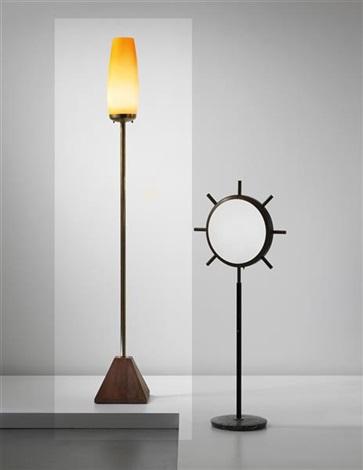 rare standard lamp by studio architetti bbpr co