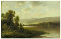 lake george, new york by thomas b. griffin