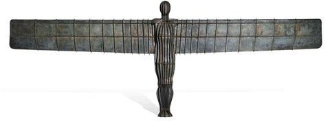 angel of the north maquette by antony gormley