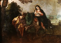 flight into egypt by hispano-flemish school (17)