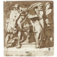 an antique sacrifice by andrea boscoli